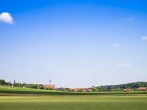 Baviera del cielo azul Fotografía de archivo libre de regalías