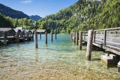 Baviera sjö Royaltyfria Bilder