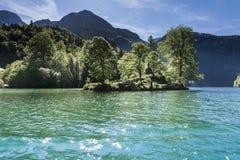 Baviera sjö Royaltyfri Foto