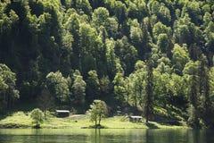 Baviera sjö Fotografering för Bildbyråer