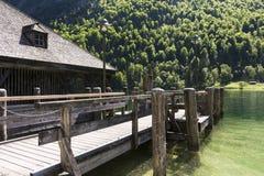Baviera sjö Arkivfoton