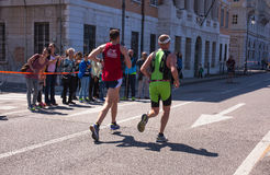 Bavisela, Halbmarathon in Triest Stockfotografie