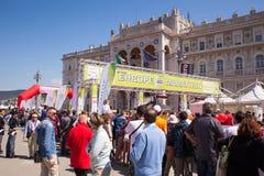 Bavisela, medio maratón en Trieste Fotos de archivo