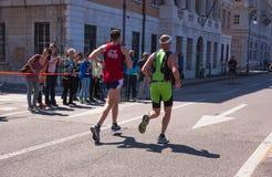 Bavisela, medio maratón en Trieste Fotografía de archivo
