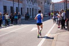 Bavisela, medio maratón en Trieste Fotografía de archivo libre de regalías