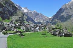 Bavona Valley,Locarno,Ticino,Switzerland Royalty Free Stock Photos