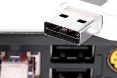 Bavure d'USB. Photographie stock libre de droits