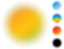 Bavure repérée de gradient. Photographie stock libre de droits