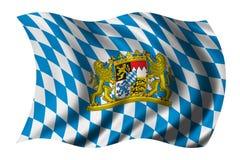 bawaria flagę Zdjęcie Royalty Free