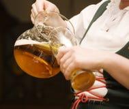 Bawarian beer stock photo