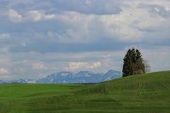 Bawarscy alps Zdjęcie Royalty Free