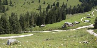 Bawarscy alps Zdjęcie Stock