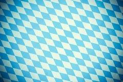 Bawarska diament flaga jak deseniowy stary zamazany Zdjęcie Royalty Free