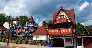 Bawarska wioska Zdjęcia Royalty Free