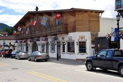 Bawarska wioska Leavenworth zdjęcie stock