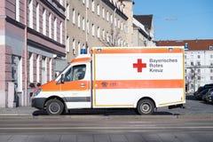 Bawarski czerwony krzyż Obrazy Royalty Free