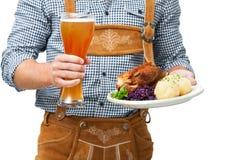 Bawarski kelner Fotografia Stock