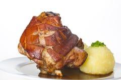Bawarski knykieć wieprzowina obraz stock