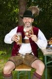 Bawarski mężczyzna Zdjęcia Royalty Free