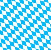 Bawarski Oktoberfest flaga symbol Zdjęcie Stock