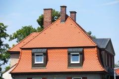 Bawarski osiągający szczyt dach Obrazy Stock