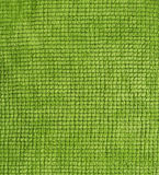 Bawełna jeży się zielonego ręcznikowego tło Zdjęcie Royalty Free