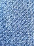 bawełniana drelichowa szczegółu tkaniny cajgów tekstura zdjęcie stock