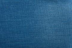 bawełniana drelichowa szczegółu tkaniny cajgów tekstura Obraz Stock