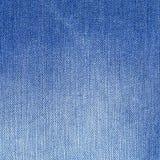 bawełniana drelichowa szczegółu tkaniny cajgów tekstura tła błękitny clouse cajgi zaświecają błękitny Zdjęcie Royalty Free