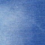 bawełniana drelichowa szczegółu tkaniny cajgów tekstura tła błękitny clouse cajgi zaświecają błękitny Zdjęcia Royalty Free