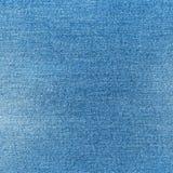 bawełniana drelichowa szczegółu tkaniny cajgów tekstura tła błękitny clouse cajgi zaświecają błękitny Obrazy Royalty Free