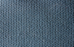 Bawełniana makro- błękitna tekstura Obraz Royalty Free