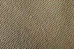Bawełniana makro- sepiowa tekstura Obraz Stock