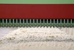 Bawełniana przędzalniana maszyna gręplowanie Zdjęcie Royalty Free