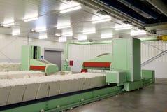 Bawełniana przędzalniana maszyna gręplowanie Zdjęcie Stock