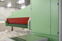 Bawełniana przędzalniana maszyna gręplowanie Zdjęcia Stock