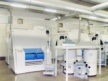 Bawełniana przędzalniana przygotowawcza maszyna Fotografia Stock