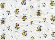 bawełniana tkanina Fotografia Royalty Free