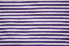 bawełniana tkanina paskował Obrazy Stock