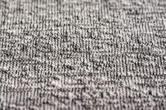 Bawełniana włókno materiału tekstura Zdjęcie Stock
