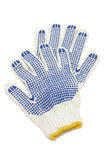 bawełniane rękawiczki Fotografia Stock