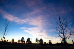 Bawełnianego cukierku chmury fotografia royalty free