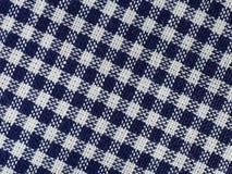 Bawełnianej tkaniny zakończenie Zdjęcia Stock