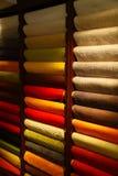 bawełniany materiał Zdjęcie Stock