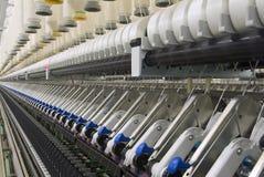 Bawełniany przędzalnictwo Machine_5 Fotografia Stock