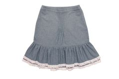 Bawełny spódnica z falbanami Obrazy Royalty Free
