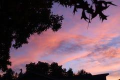 Bawełnianego cukierku nieba Fotografia Stock
