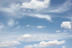 Bawełniany cukierek w niebie Zdjęcie Stock