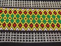 Bawełniany tkactwo w Tajlandia Obrazy Royalty Free