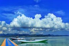 Bawean-Insel gili noko Stockbilder